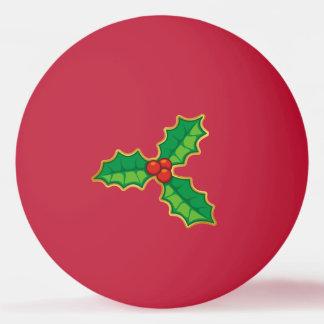 Houx de Noël Balle Tennis De Table
