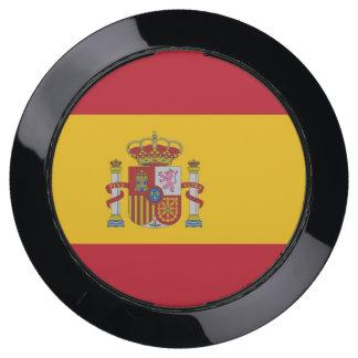 Hub de chargeur avec le drapeau de l'Espagne