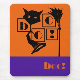 Huez ! Cadeau Mousepads de Halloween d'amusement Tapis De Souris