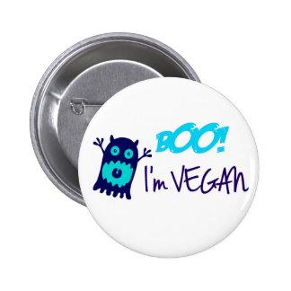 Huez ! Je suis végétalien Badge Rond 5 Cm