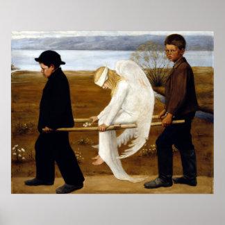 Hugo Simerg l'ange blessé Poster