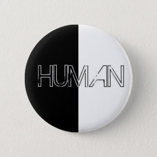 humain badge rond 5 cm