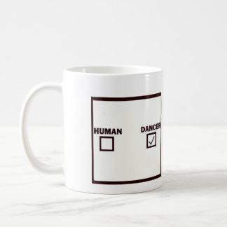 humain/danseur mug
