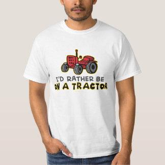 Humoristique je serais plutôt sur un tracteur t-shirt