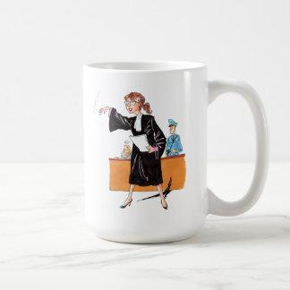 Humour : avocate - mug