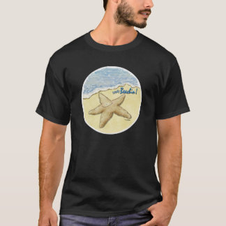 Humour de T-shirt d'étoiles de mer
