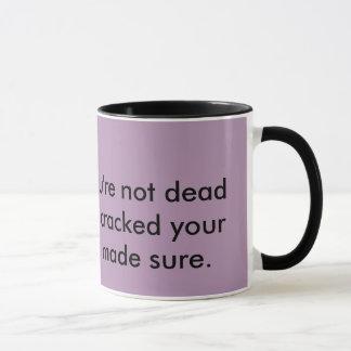 Humour d'infirmière d'ICU Mug