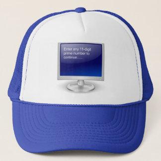 Humour d'ordinateur casquette