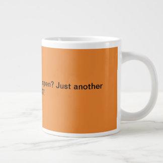Humour enorme de cadeau de bureau de tasse de café