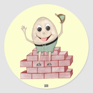 Humpty Dumpty Sticker Rond
