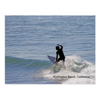 Huntington Beach, la Californie Carte Postale