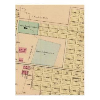 Huntington, la Virginie Occidentale Carte Postale