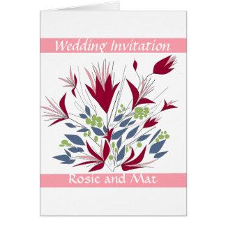 Huwelijk Annoucement /Invitation Briefkaarten 0