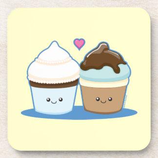 Huwelijk Cupcakes Drankjes Onderzetters