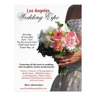 Huwelijk Expo Gepersonaliseerde Folder