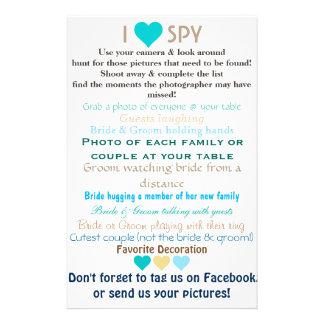 Huwelijk I Spion Flyer 14 X 21,6 Cm