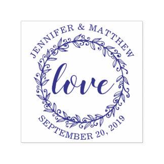 Huwelijk van de Liefde van de Kroon van de douane Zelfinktende Stempel