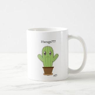 """""""Hwugs ? ? ?"""" Cactus Mug"""