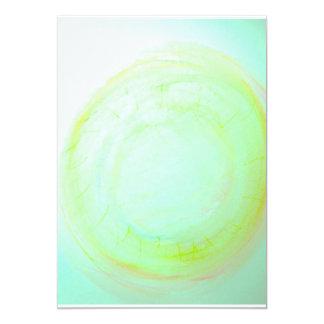 Hypnose door Kleur - nodig uit 12,7x17,8 Uitnodiging Kaart