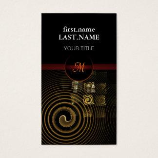 Hypnose fraîche élégante moderne professionnelle cartes de visite