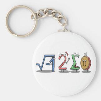 i 8 porte-clés de maths de la somme pi (j'ai mangé