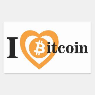 I autocollant de symbole de logo de Bitcoin de