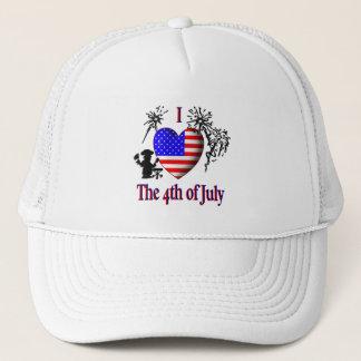 I coeur 4 juillet le casquette