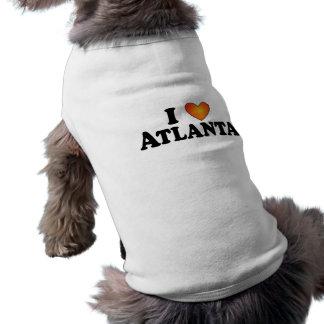 I (coeur) Atlanta - T-shirt de chien