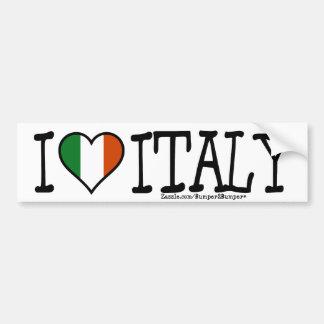 I COEUR ITALIE ADHÉSIFS POUR VOITURE