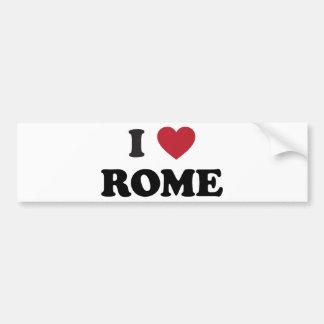 I coeur Rome Italie Autocollant Pour Voiture