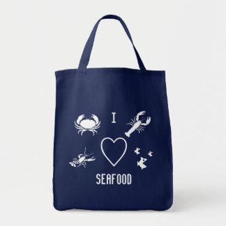 I fruits de mer de coeur tote bag