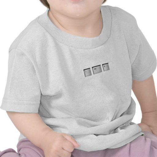 I habillement de CTRL U pour le bébé aux adultes T-shirt