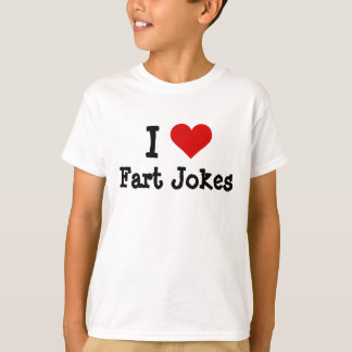 I hart grappige Grappen Fart T Shirt