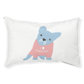 I het Bed van de Hond van Frenchys van het Hart Hondenbedden