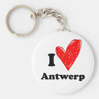 I love Antwerp Porte-clés
