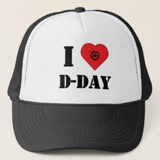 I love D-DAY cap - casquette