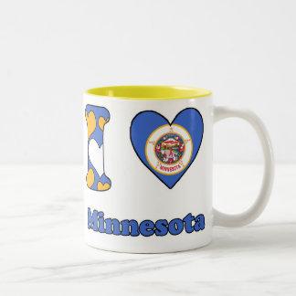 I love Minnesota Tweekleurige Koffiemok