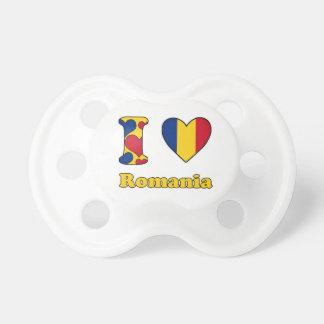 I love Romania Tétine Pour Bébé