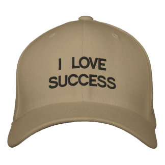 I LOVE SUCCESS (Casquette) Casquette Brodée