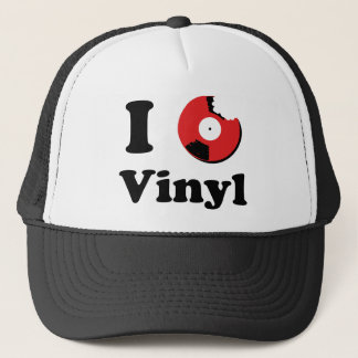 I Love Vinyl Casquette