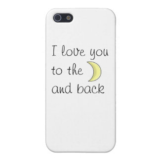 I love you to the moon and back phone mariez coques iPhone 5