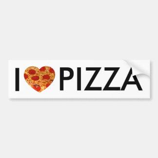 I pizza de coeur autocollant de voiture
