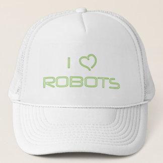 I robots de coeur casquette