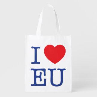 I sac réutilisable d'UE de coeur