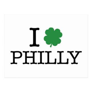 I shamrock Philly Carte Postale