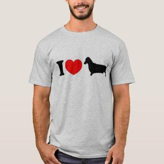 I teckel de coeur - paysage t-shirt