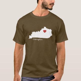 I ville personnalisable du Kentucky de coeur T-shirt