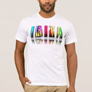 Ibiza 2011 lettres t-shirt