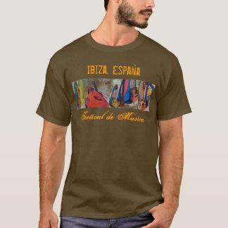 Ibiza, festival de musique de l'Espagne - XXL T-shirt