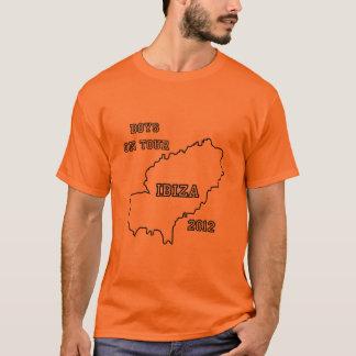 Ibiza - garçons en tournée 2012 t-shirt